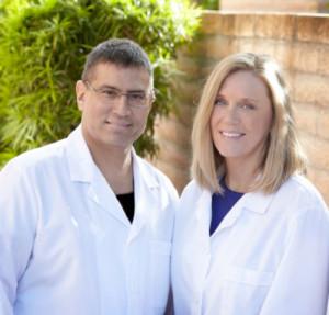 Dr. Joseph S. Dovgan with Dr. Jacque Allen